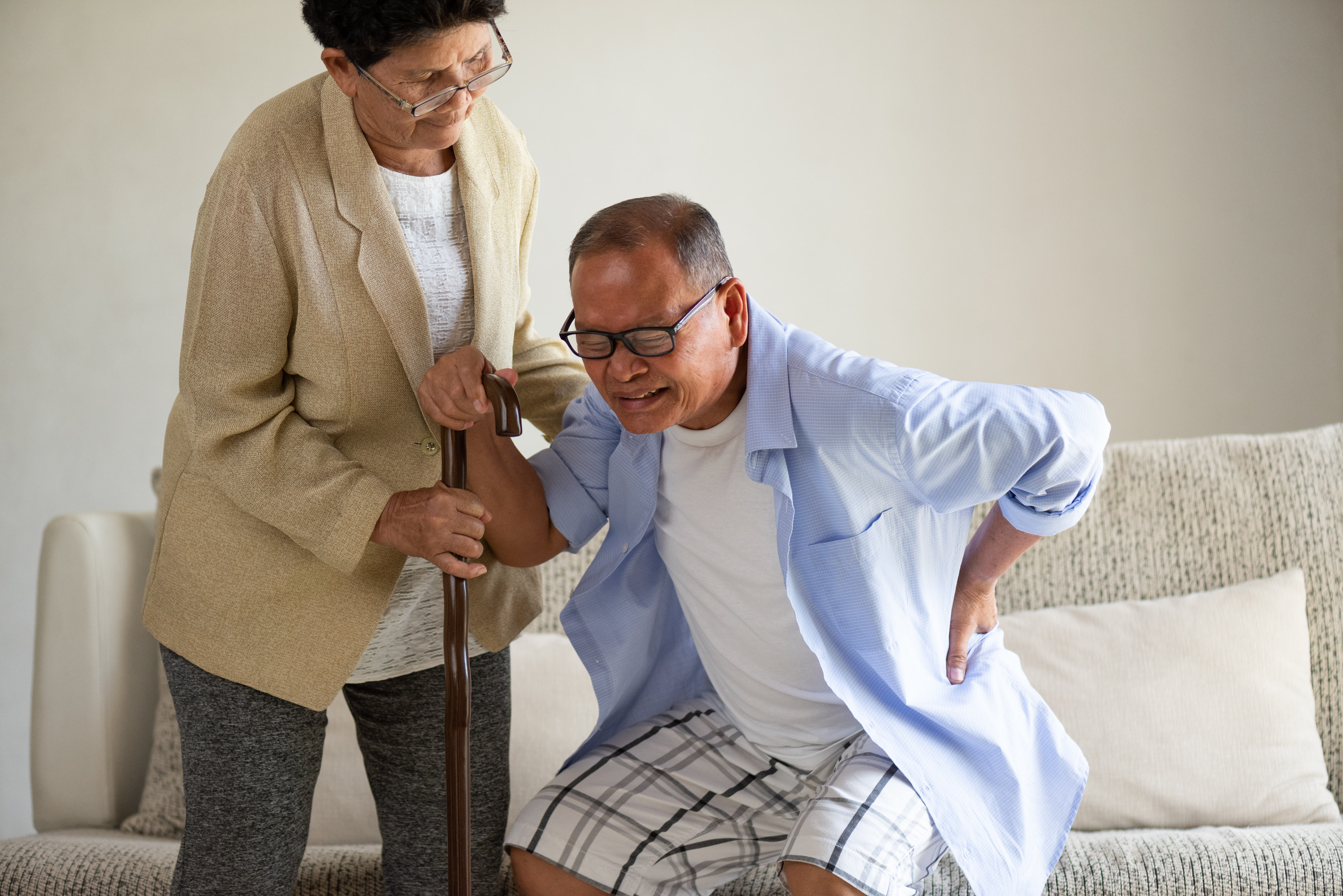 fixing age related back pain