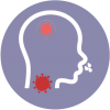 icon for flu or cold common illness to do telemedicine or video consultation with doctors using the healthway medical app