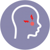 an icon for sinusitis as a common illness to video consult or telemedicine with doctors using the healthway medical app